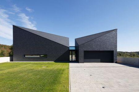 Façade Jardin & Terrasse - House-Krostoszowice Par RS+ - Krostoszowice, Pologne