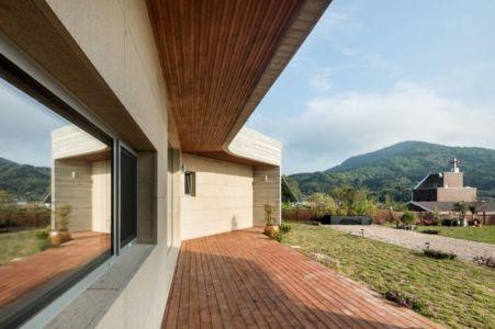 Façade Jardin & Vue Panoramique Paysage - House-Dongmang Par 2m2 Architects - Geoje, Coree Du Sud