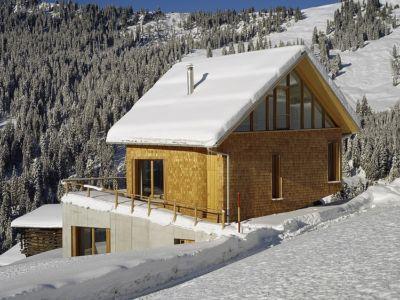 face arrière - Panix résidence par Drexler-Guinand-Jauslin architekten, Panex, Suisse