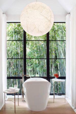 fenêtre baie vitrée - villa par Krutz Homes - Floride, USA