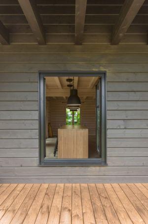 fenêtre - Ranch par Aketuri Architekai - Lituanie
