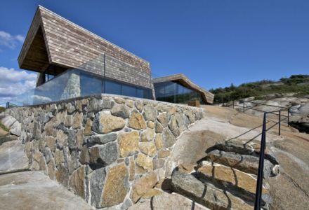 fondation rocheuse - Summer-House par JVA - Vestfold, Norvège