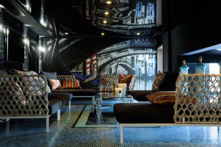 fumoir - Luxury Chalet par Jean-Marc et Anne-Sophie Mouchet - Courchevel, France