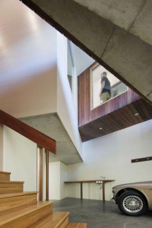 garage - Aireys House par Byrne Architects -  Aireys Inlet, Australie