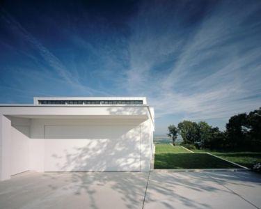garage - House Philipp par Philipp Architekten - Waldenburg, Allemagne