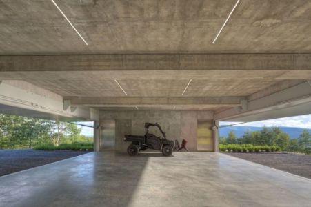 garage - Shokan-House par Jay Bargmann - New York, USA