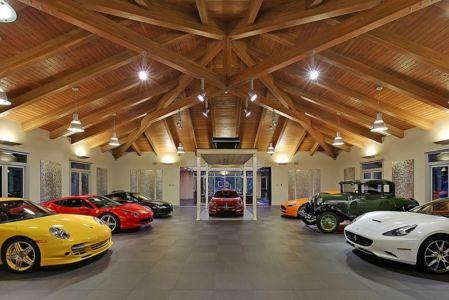 garage - West Bellevue House - Washington, USA