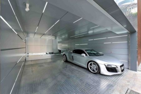 garage - construction écologique par Millimeter Interior Design Limited - Hong Kong