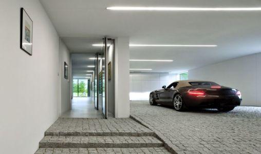 garage & entrée - Autofamily House - Robert Konieczny-KWK Promes - Pologne - Copie