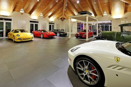 garage et asenceur - West Bellevue House - Washington, USA