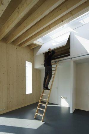 rangements sous plafond - Biobased-Living-Concept par DDacha - Pays-Bas