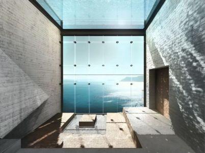 grande baie vitrée - Casa Brutale par OPA_Open Plateform - Grèce