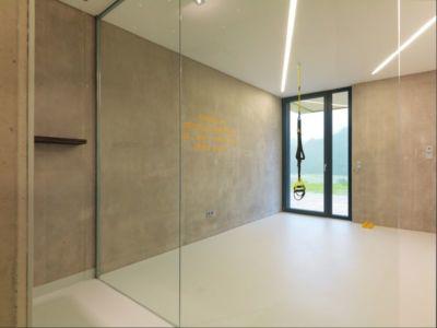 grande baie vitrée - Mountain-View House par SoNo arhitekti - Kitzbuehel, Slovénie