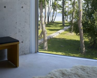 grande baie vitrée chambre - villa-lokaator par kavakava - Paldiski, Estonie