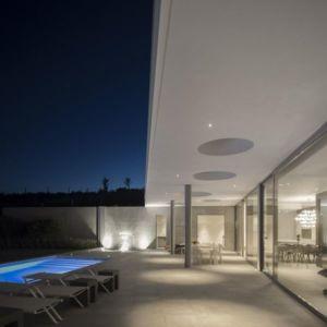 grande baie vitrée & vue séjour - zauia-house par mario martins atelier - Val da Lama, Portugal