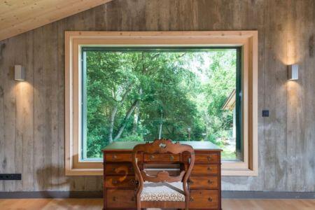 grande fenêtre fixe chambre - despang par Despang Schlüpmann Architekten - Allemagne