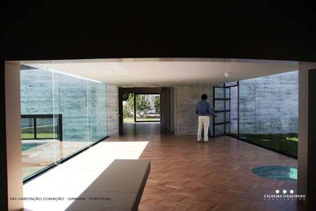 grande pièce de vie - Cardio House par Caldeira Figueiredo Arquitectos - Portugal