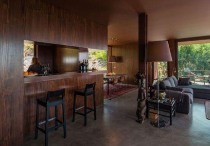 grande pièce de vie - Casa de Seixas par Castro Calapez Arquitectos - Caminha, Portugal