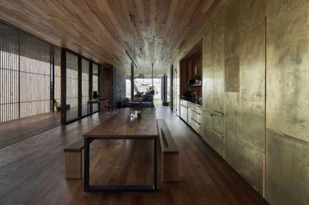 grande pièce de vie - Sawmill-House par Archier - Yackandandah, Australie