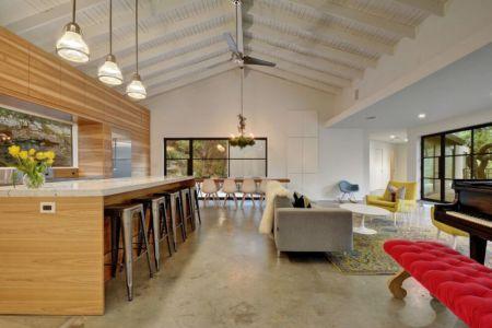 grande pièce de vie - westlake-home par Capstone Custom Homes - Westlake, USA