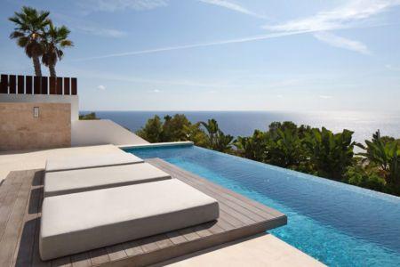 grande piscine & bain de soleil - ocean-home par SAOTA - Ibiza, Espagne