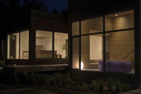 grandes baies vitrées - La-chevre par Atelier Pierre Thibault - Québec, Canada