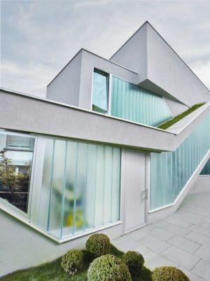grandes baies vitrées façade jardin & terrasse - MaHouse par Marc Formes - France