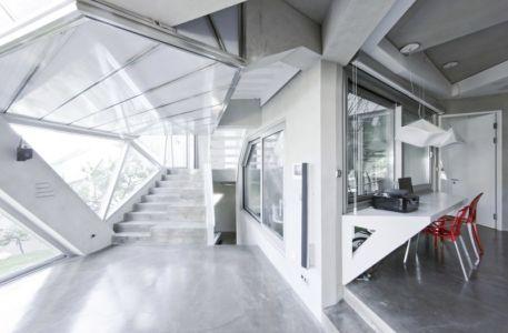 hall - HWA HUN par IROJE KHM Architects - Pyeongchang-dong, Corée du Sud