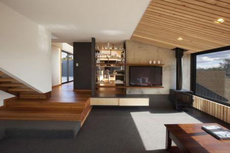hall d'entrée - Valley House par Philip M Dingemanse - Launceston, Australie