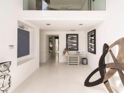 hall d'entrée - magnifique propriété à vendre à Uccle en Belgique