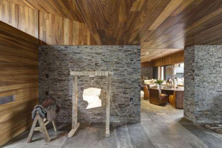 hall entrée - Casa MM par Elías Rizo Arquitectos - Mexique