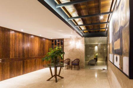 hall entrée - Montebello 321 par Jorge Bolio Arquitectura - Merida, Mexique