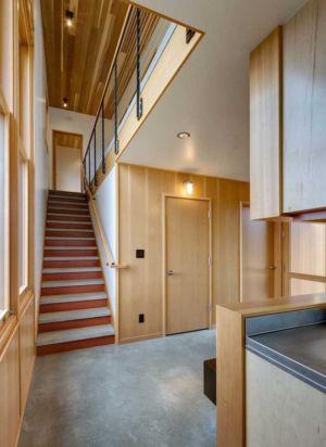 hall entrée - Nahahum Canyon House par Balance Associates - Nahahum Canyon, Usa