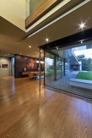 hall entrée - Reviving Mies par Architéma - Buda Hills, Hongrie