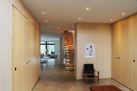 hall entrée - Villa E par Stringdahl Design - Suède