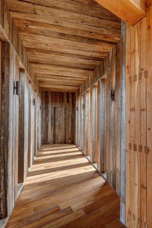 hall entrée - Wolf Creek Ranch par S+D Architects - Utah, Usa