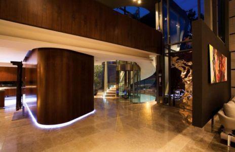 hall entrée - villa afro-européenne par Saota - Genève, Suisse