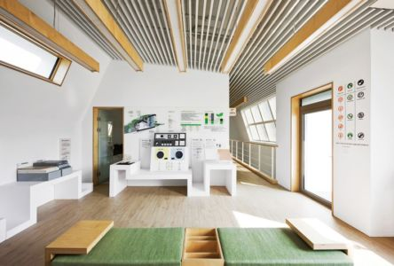 hall expo - E-Green Home par Unsangdong - Jeondae-ri, Corée du Sud