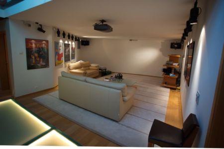home-cinema - Barbo House par Ralph Büeler (Bend Group) - Genève, Suisse