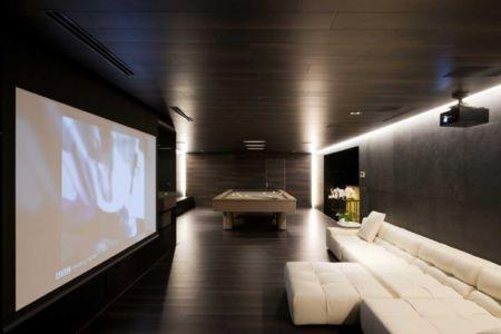 home cinema - Villa Agalarov par SL Project - près de Moscou, Russie