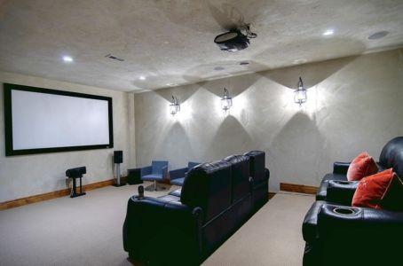 home cinema - chalet contemporain Thunderhead, Colorado, Usa