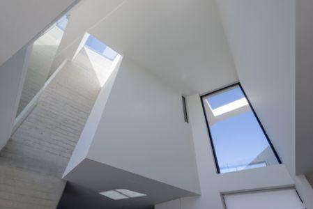 intérieur - Paradox house par Klab architecture - Athènes, Grèce