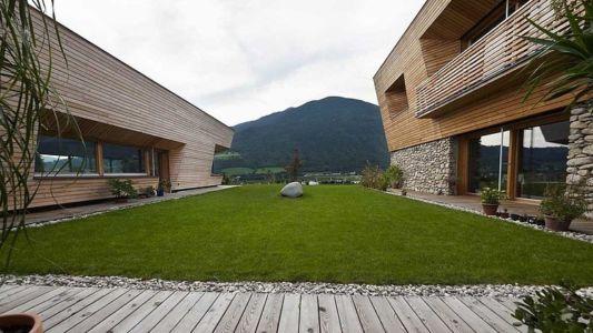intérieur U - Brunner House par Norbert Dalsass - Italie