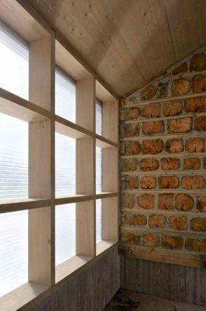 intérieur avec plafond en bois - Cozy-Wooden-Cottage par JVA - Oppdal, Norvège