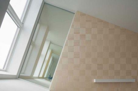 intérieur porte à faux - ZEB Pilot House par Snøhetta - Larvik, Norvège