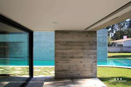 intérieur terrasse - Cardio House par Caldeira Figueiredo Arquitectos - Portugal