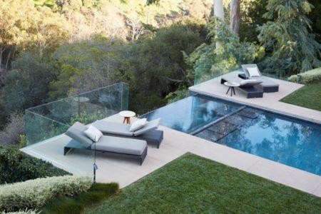 jacuzzi piscine - Chatauqua Residence par Studio William Hefner - Californie, Usa