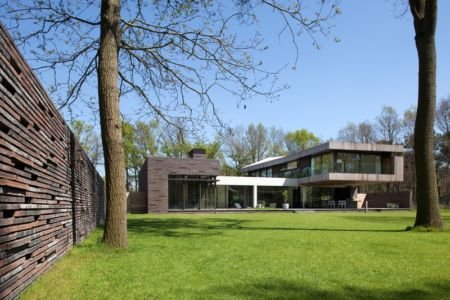 jardin - 102 Heesch par Hilberink Bosch Architecten - Bosvilla, Pays-Bas
