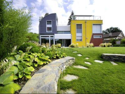 jardin - Barbo House par Ralph Büeler (Bend Group) - Genève, Suisse
