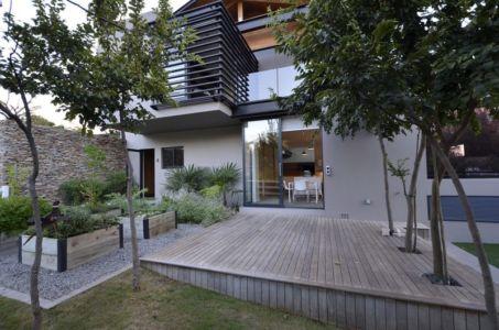 jardin - House-in-Blair-Atholl par Nico van der Meulen Architectes - Johannesburg, Afrique du Sud